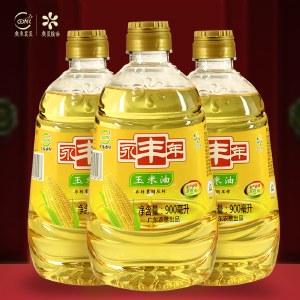 永丰年玉米油900ML