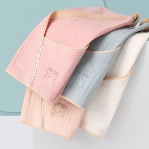 猫人4条装女士内裤女棉质抗菌舒适无痕透气薄款三角短裤MR7029-4