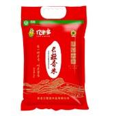 东北大米5kg 长粒香米 红色单层真空包装 10斤