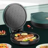 美菱电饼铛三明治机烹饪机家用早餐机华夫饼机烙饼锅MAJ-LC1202