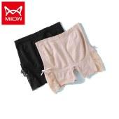 猫人安全裤2条装防走光内裤夏女士性感中腰打底裤MR7001-2