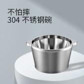 美菱绞肉机不锈钢碗家用电动绞馅机碎肉打肉机切菜搅拌机MM-LC1821