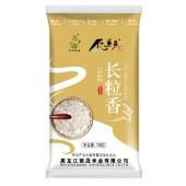 【买一送一】亿米多 东北大米5kg 长粒香米 红色单层真空包装 10斤(买10斤送试吃装)