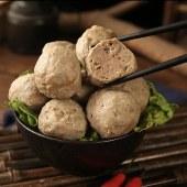 潮汕金大牛手工牛肉丸牛筋丸新鲜牛肉制作500g*2包(2斤装)