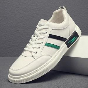 寒丝琪 男鞋新款时尚板鞋白鞋休闲百搭小白鞋 2012-2