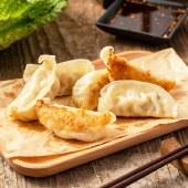 潮香村韭菜圆白菜猪肉煎饺速冻饺子早餐点心小吃240g*6