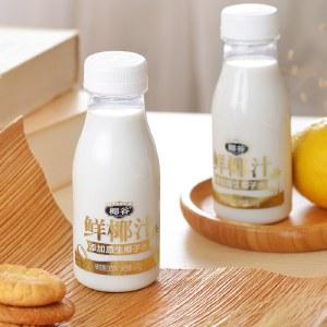 金标椰谷鲜榨椰汁椰奶椰子正宗植物饮品添加原生椰子水245g*10