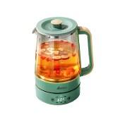 艾贝丽喷淋煮茶器养生壶煮茶壶智能电水壶烧水壶电热水壶迷你玻璃花茶壶ABL-ZC08