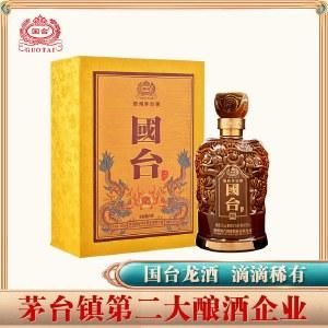 贵州国台酒53度国台龙酒年份坤沙酱香白酒龙瓶500ml