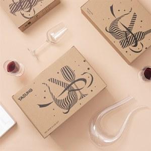 雅绅·竖琴醒酒器 (防震包装) B级品 红酒葡萄酒玻璃倒酒器YS-G002