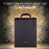 六支·钻石皮盒 HW-061 红酒盒