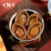 吉膳堂鲍汁吉品鲍开盖即食鲍鱼罐头加热熟食180g*2罐 高档海鲜捞饭捞面