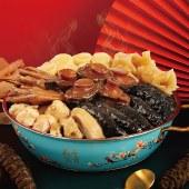 花开富贵鲍鱼海参佛跳墙年夜饭加热即食海鲜大盆菜  4-6人 1500g