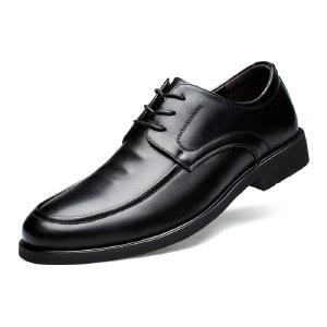 寒丝琪 透气休闲韩版英伦商务皮鞋 37929