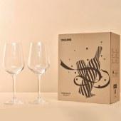 双支水晶杯礼盒 (防震包装)红酒杯葡萄酒玻璃高脚杯子