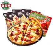 潮香村匹萨成品5片装海鲜培根烤肉披萨952g
