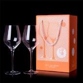 小团圆·双支礼盒 (防震包装)红酒杯高脚杯葡萄酒水晶杯