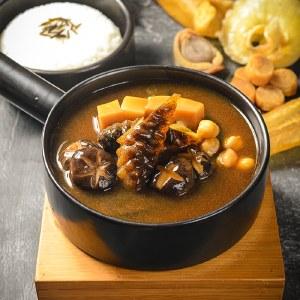 吉膳堂鲍汁海参捞 高汤熬煮海味冷冻加热即食金汤单人份捞饭捞面 3包装