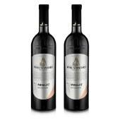 乌标红酒2号美乐干红葡萄酒